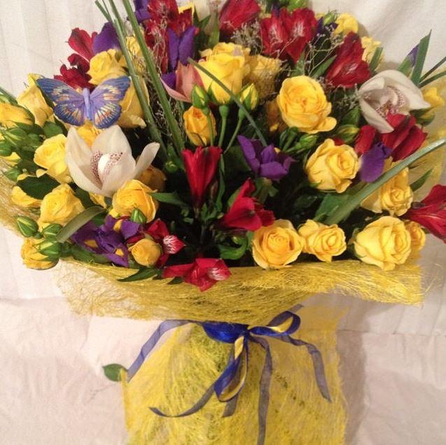 Магазин букетов с доставкой живые цветы в зонелюбви