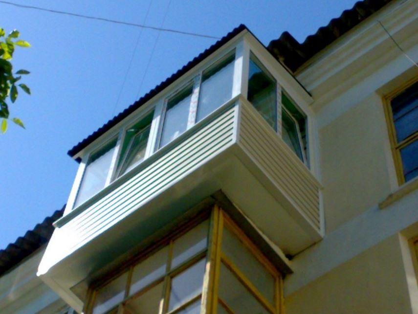 Как увеличить площадь балкона.